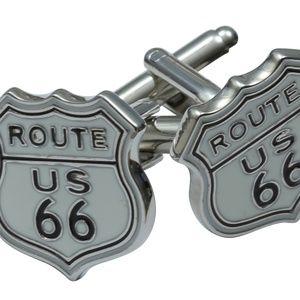Route 66 Cufflinks